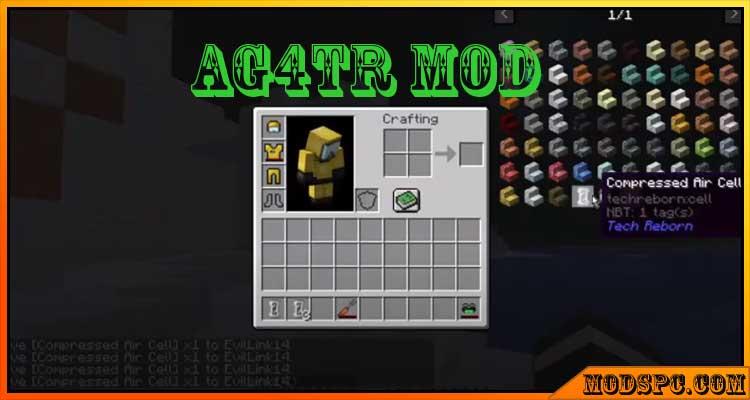 Ag4tr Mod 1.16.5/1.16.4