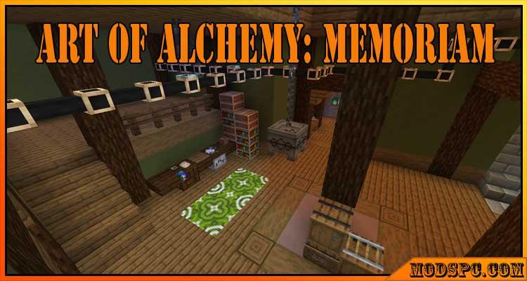 Art of Alchemy: Memoriam Mod 1.16.4/1.16.3