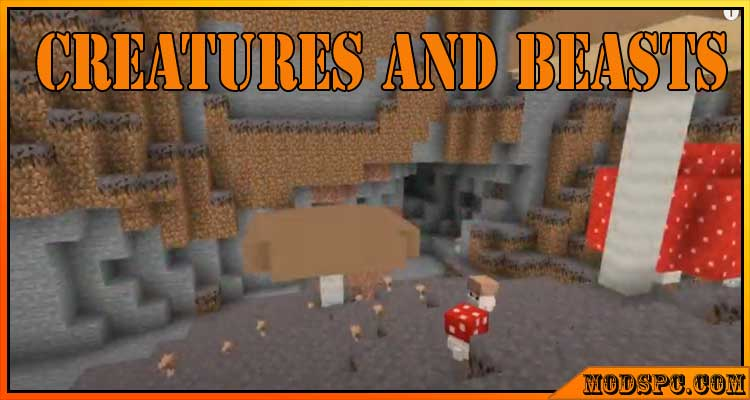 Creatures and Beasts Mod 1.16.5/1.16.4/1.16.3