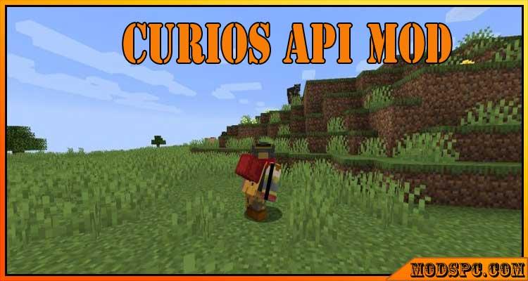 Curios API Mod 1.16.5/1.15.2/1.14.4