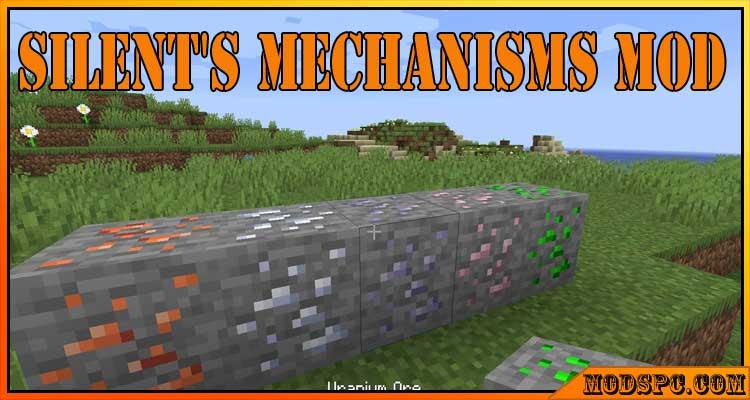 Silent's Mechanisms Mod 1.16.5/1.15.2/1.14.4