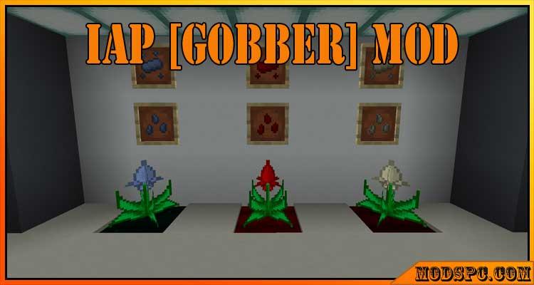 IAP [Gobber] Mod 1.16.5/1.15.2/1.14.4