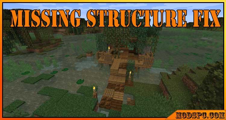 Missing Structure Fix Mod 1.16.3