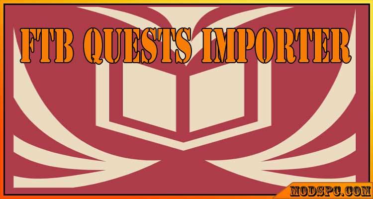 FTB Quests Importer Mod 1.12.2