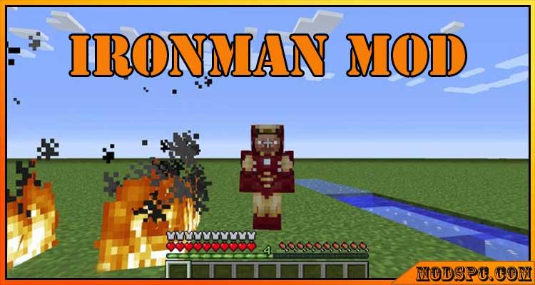 IronMan Mod 1.12.2/1.7.10