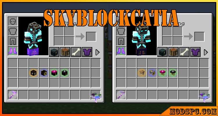 SkyBlockcatia Mod 1.16.5