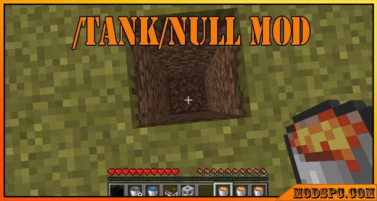 /tank/null Mod 1.16.5/1.15.2