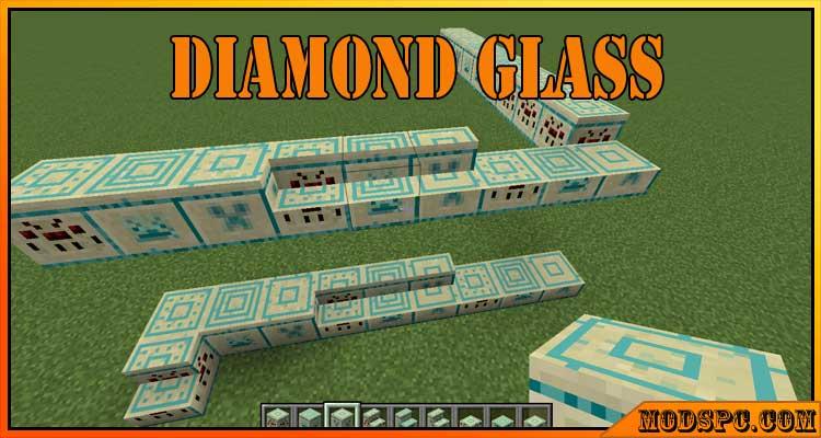 Diamond Glass Mod 1.16.5/1.15.2/1.12.2