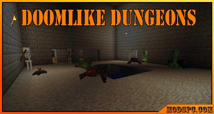 Doomlike Dungeons Mod 1.12.2/1.11.2/1.10.2