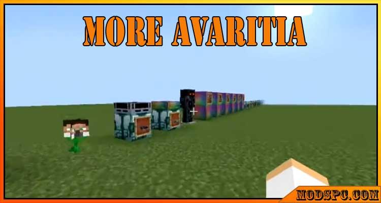 More Avaritia Mod 1.12.2/1.10.2