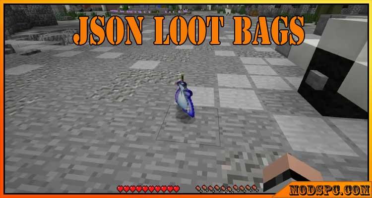 Json Loot Bags Mod 1.12.2/1.10.2