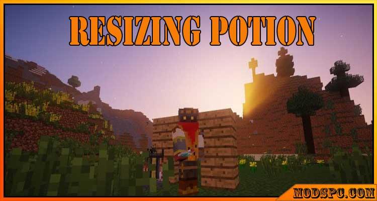 Resizing Potion Mod 1.12.2