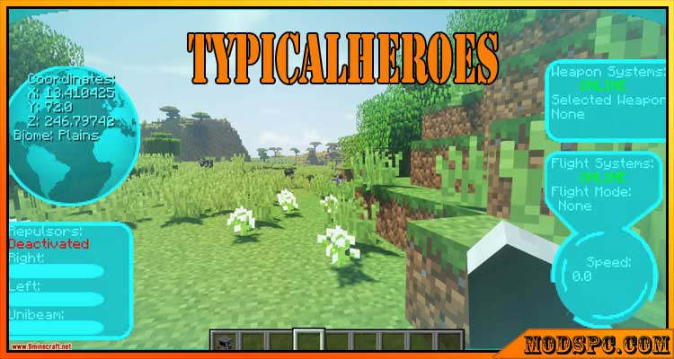 TypicalHeroes Mod 1.12.2/1.10.2