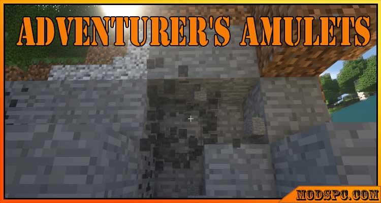 Adventurer's Amulets Mod 1.12.2/1.7.10