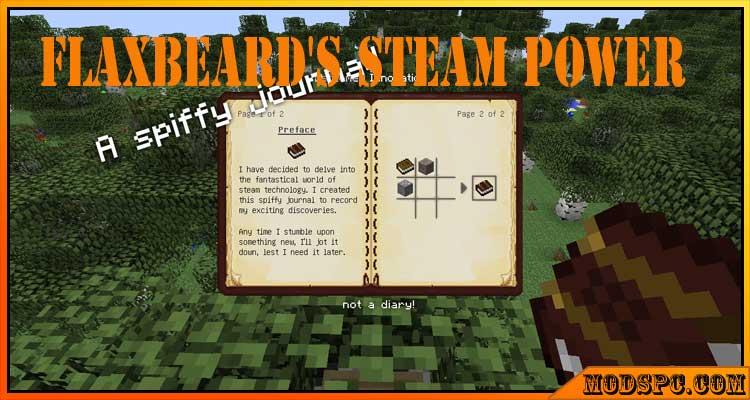 Flaxbeard's Steam Power Mod 1.7.10