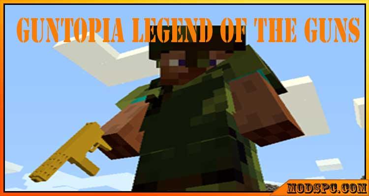 Guntopia Legend of the Guns Mod 1.8.9/1.7.10