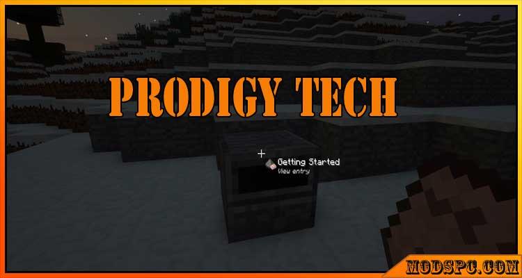 Prodigy Tech Mod 1.12.2