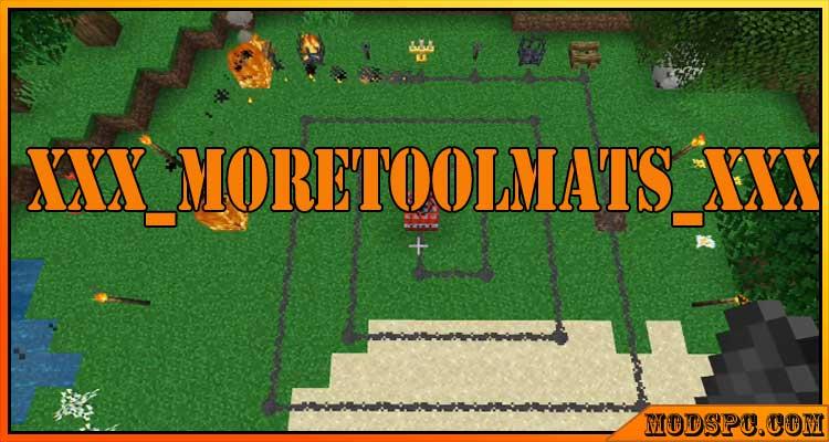 xXx_MoreToolMats_xXx Mod 1.12.2