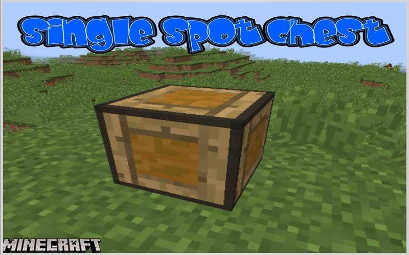 Single Spot Chest Mod 1.15.2